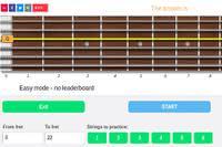 guitar fretboard memorization online game