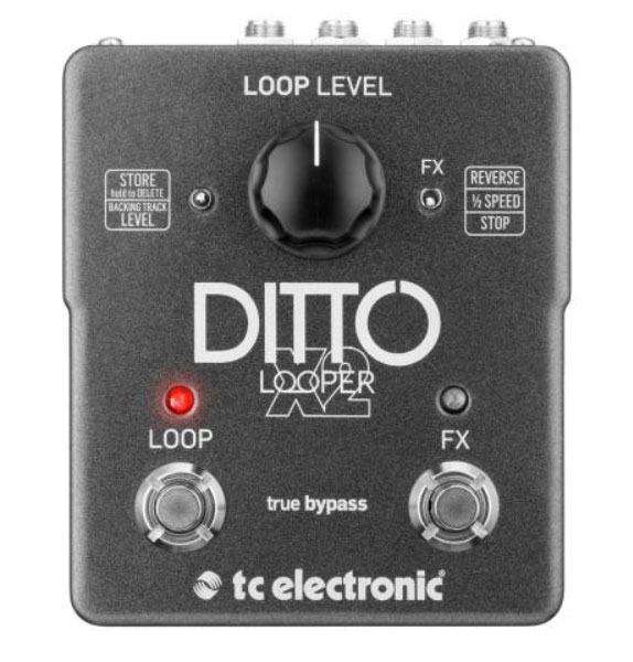 guitar looper pedal ditto x2