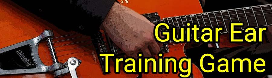 guitar ear training game