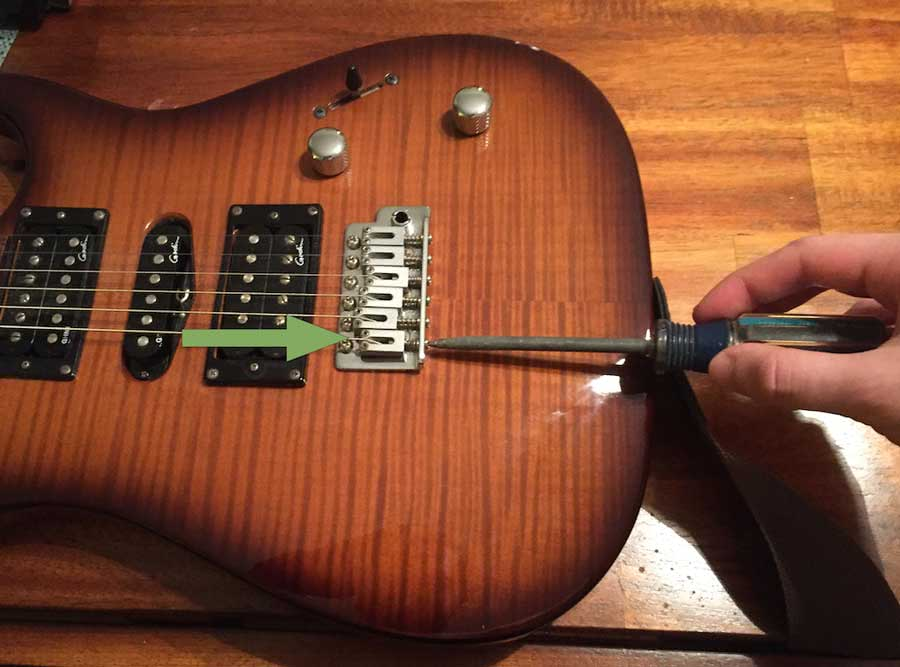 guitar intonation