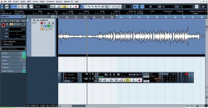 recording guitar with cubase