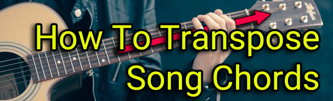 how to transpose guitar chords